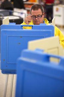 La jornada del martes registró una baja participación de los electores.