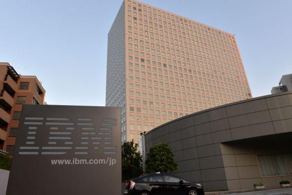 Una de las comáñías a la vanguardia en computación cognitiva es IBM.