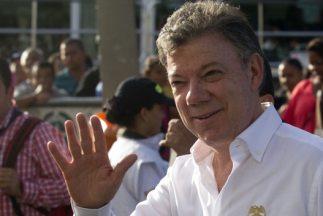 El presidente de Colombia,Juan Manuel Santos.