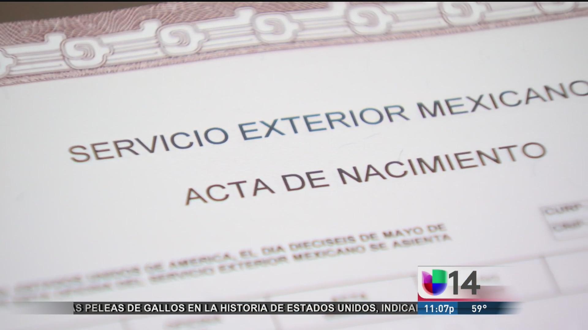 Cómo tramitar su acta de nacimiento en un consulado de México en ...