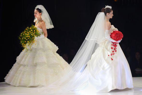 Vestidos de novia estilo japones