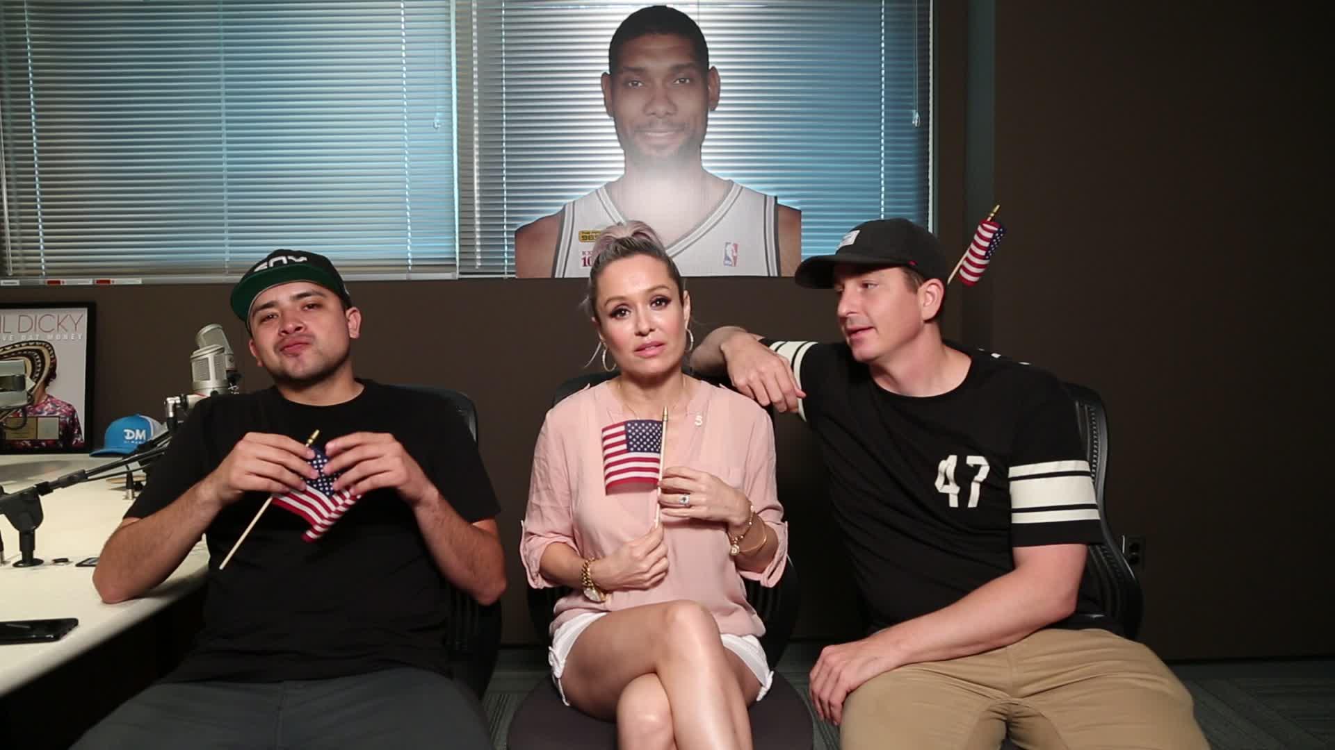Dana Cortez Show Celebrates Independence 98 5 The Beat