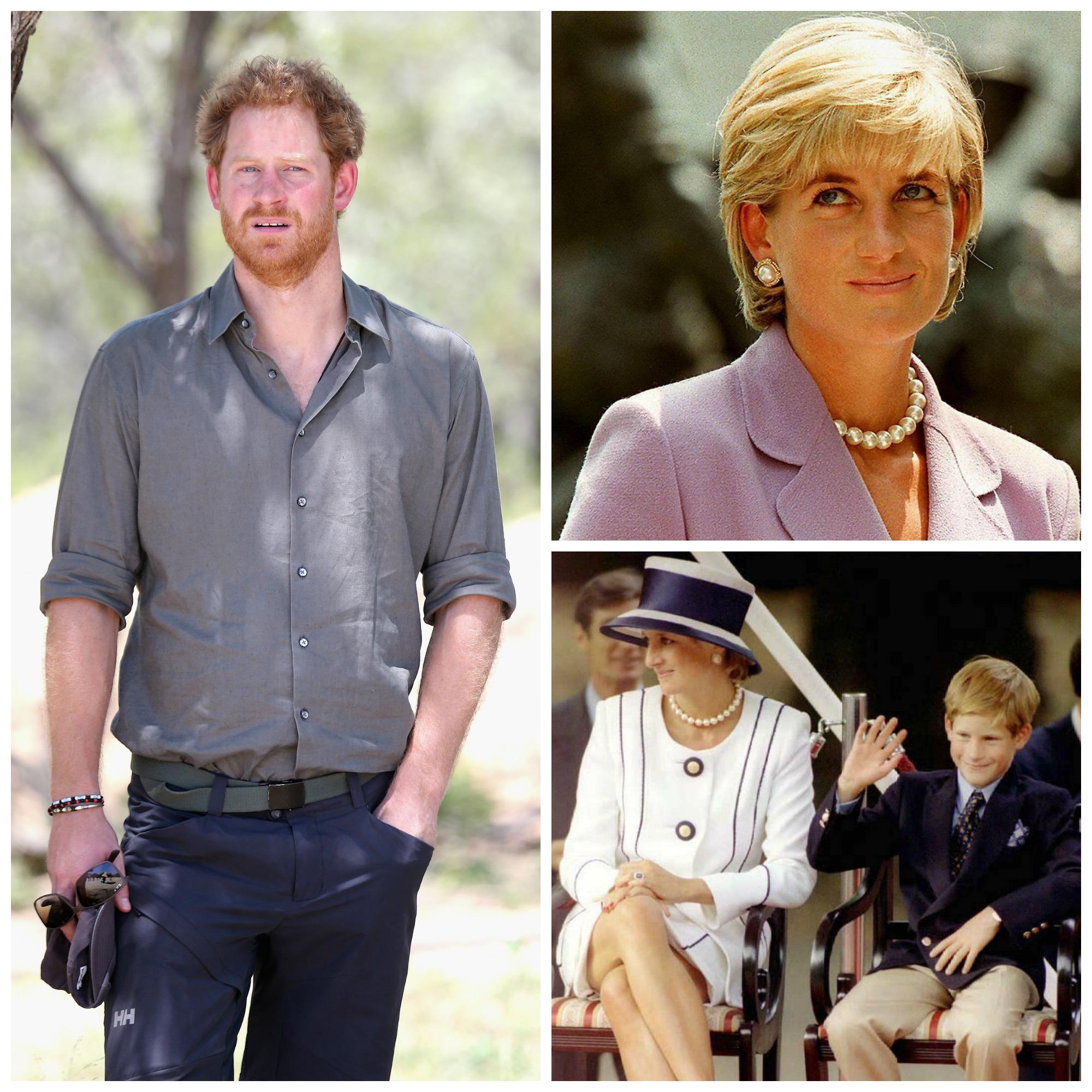 """""""Hubo Muchas Emociones Enterradas"""": El Príncipe Harry Habla Sobre La Muerte De La Princesa Diana"""