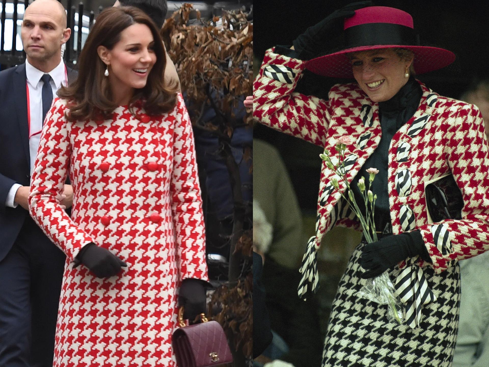 Pobre Kate, cuando no la comparan con Lady Di lo hacen con Meghan ...