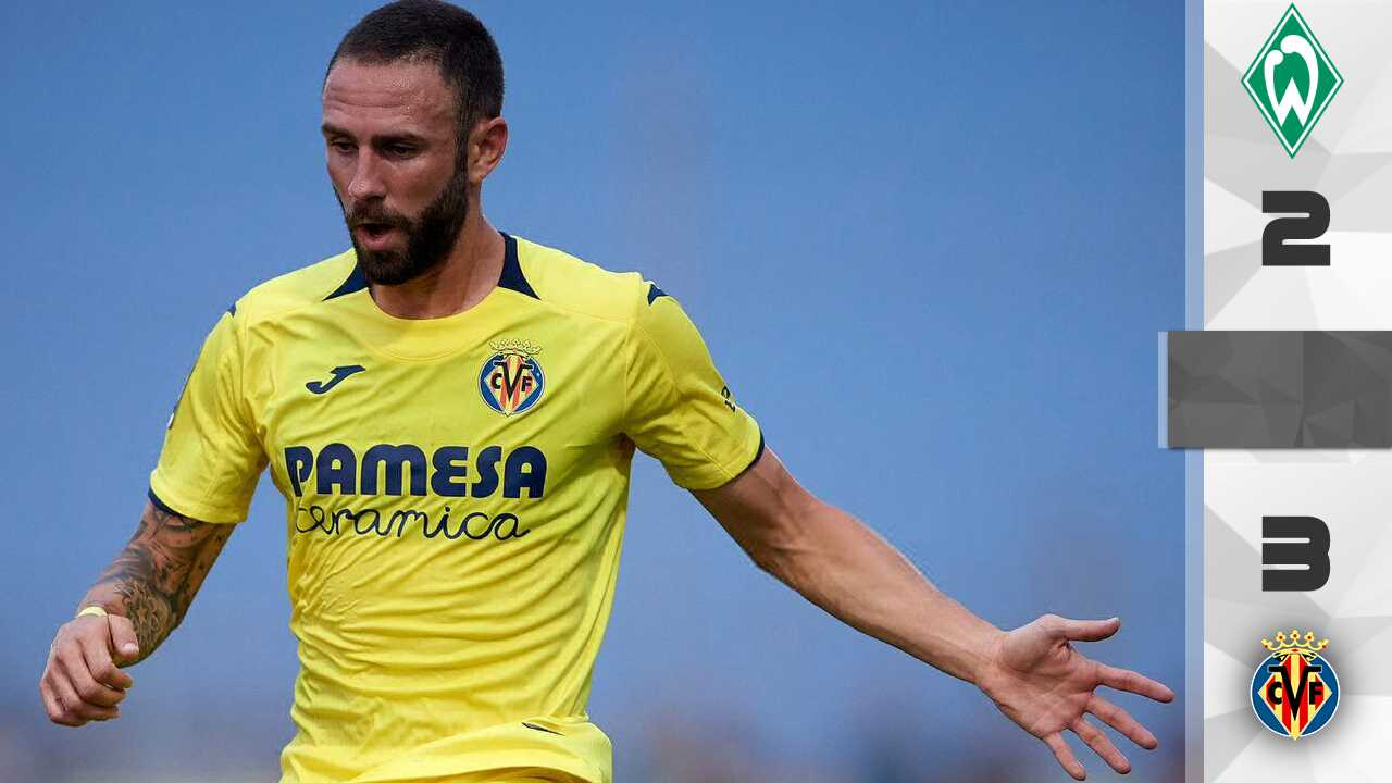 Miguel Layún came out as a starter in Villarreal's triumph against Werder Bremen