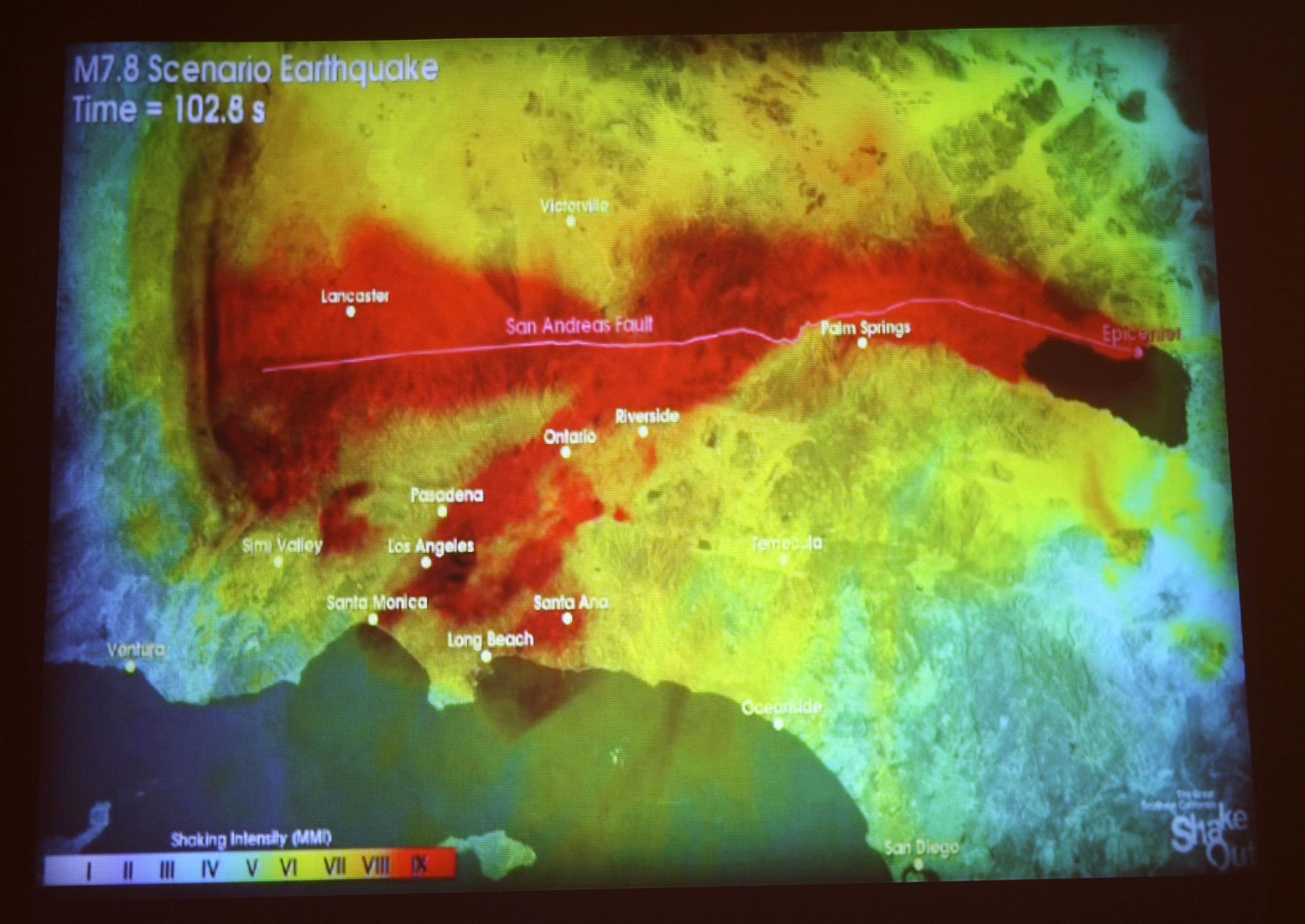 Sube el riesgo de un gran terremoto en California para los próximos ...