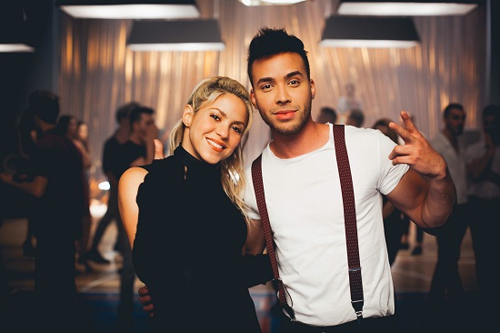 Prince Royce y Shakira lanzan video de 'Deja vu'