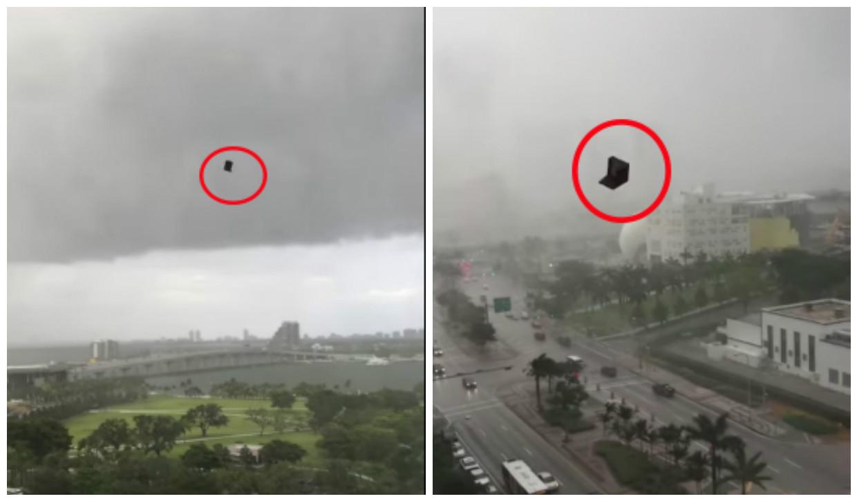 Llovieron muebles durante tormenta en Miami! - Univision 23 Miami ...