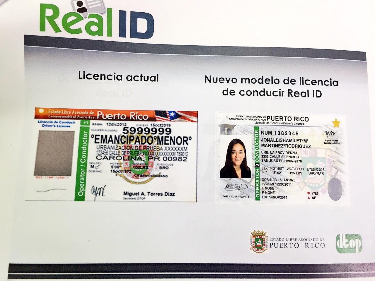 Puerto Rico estrena nuevo formato de licencia de conducir ...