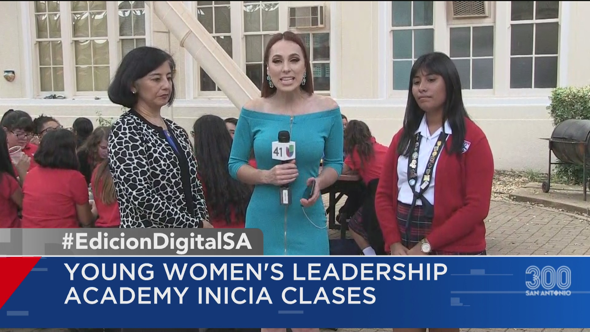Young Women S Leadership Academy Inicia Clases Univision 41 San