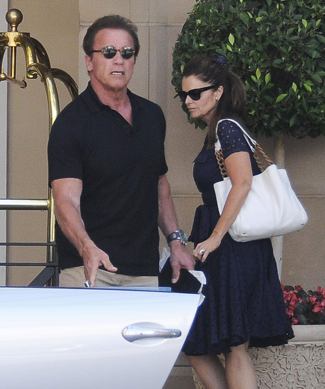 Amar A Muerte Capitulo 12: Arnold Schwarzenegger Celebró Su Cumpleaños Con Su Ex
