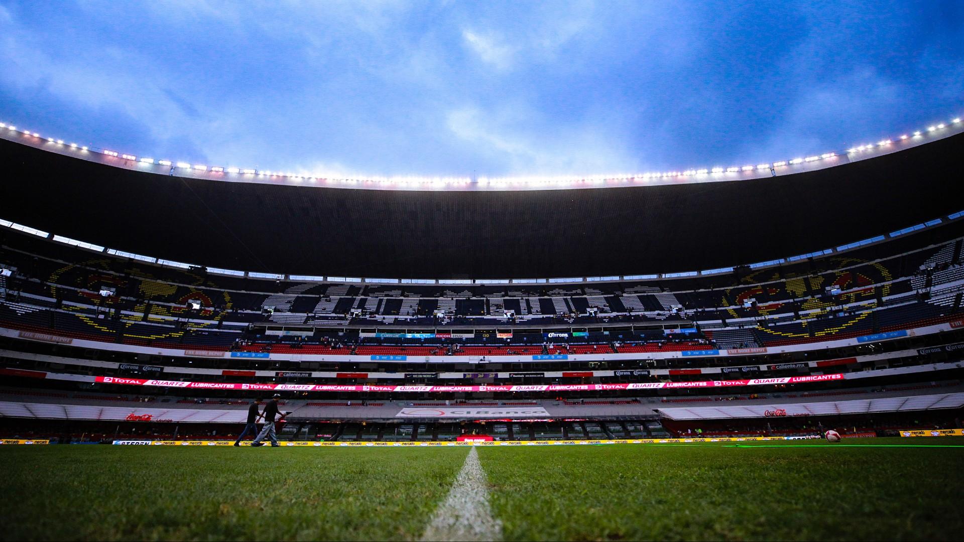 Azteca Stadium court was affected after concert