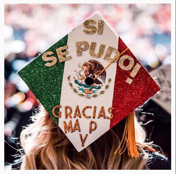 In Photos: These Graduation Caps Honor Hispanic Heritage