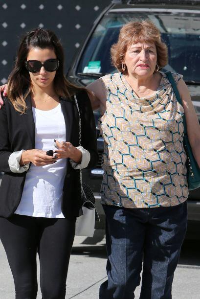 Eva Longoria adora a su mami y cada que tiene oportunidad pasa mucho tie...