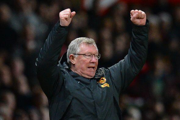 Con partidos y triunfos de este tipo, hasta el mismo Ferguson salta de a...