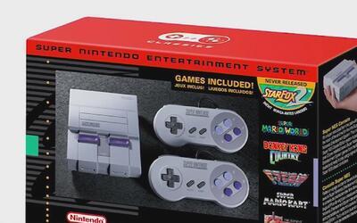 La consola Super Nintendo regresa al mercado en una versión mejorada