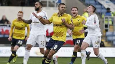 Equipo de Cuarta División vence al Swansea