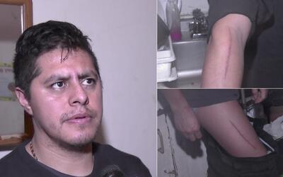 Tomás Jiménez fue atacado en la madrugada del pasado lunes...