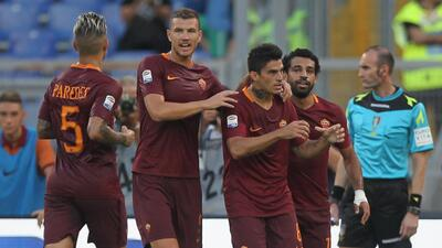 Roma inicia temporada con goleada sobre Udinese
