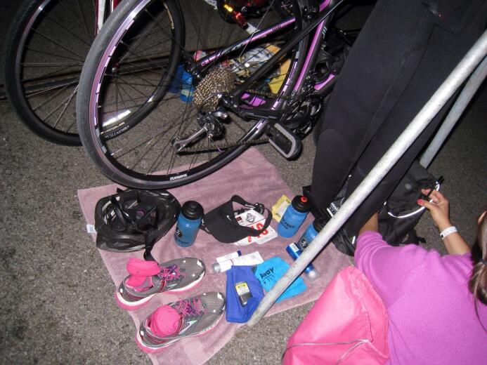 Cómo hacer las transiciones si corres un triatlón