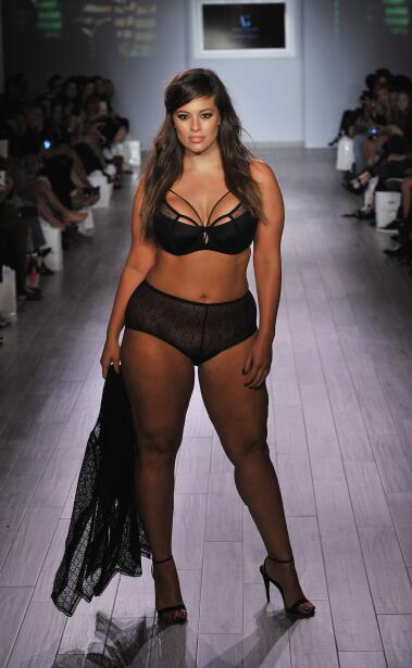 Modelo Talla Grande en la New York Fashion Week 2015