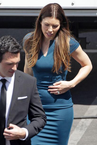 Ni la actriz ni el cantante han hablando sobre el posible embarazo.