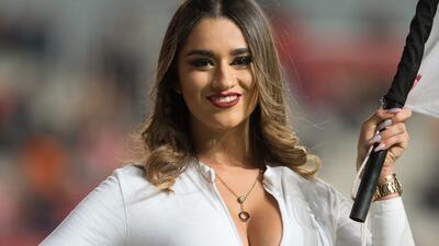 La sensualidad de las porristas en los estadios durante la Jornada 7 de la Liga MX
