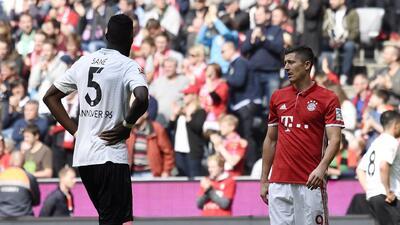Hannover vs. Bayern Munich: las dos caras de la moneda en la Bundesliga