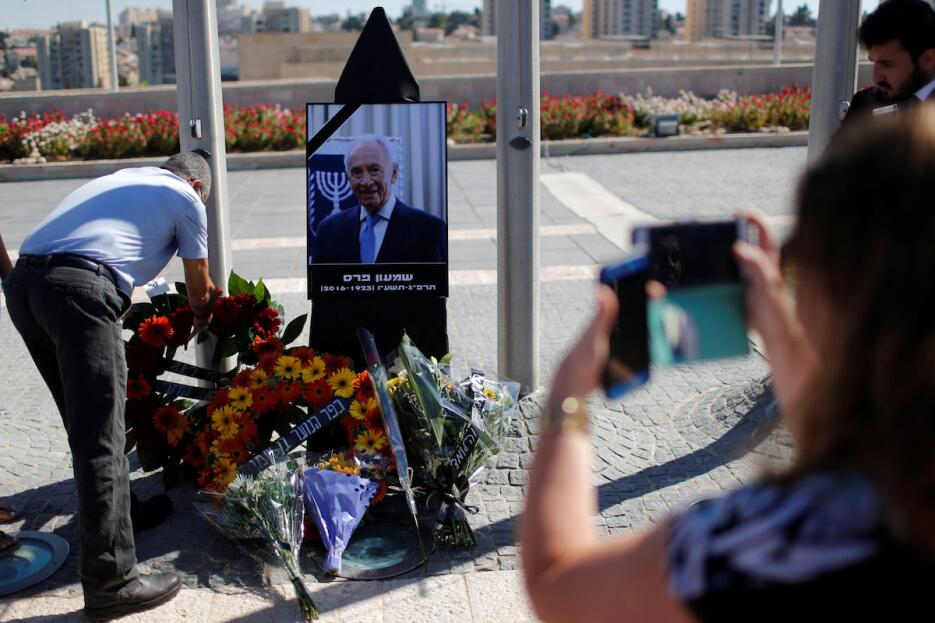 Israel comienza los preparativos para dar el último adiós a Shimon Peres...