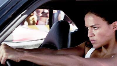 'Furious 7': Michelle Rodriguez en acción