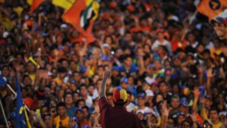 Los venezolanos elegirán presidente el 7 de octubre.