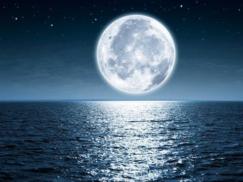 Prepárate para la primer luna llena del año