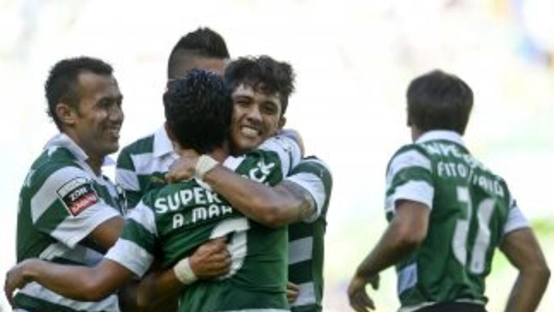 Sporting paseó al Académica de Coimbra.