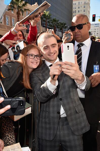 El actor Daniel Radcliffe ya tiene su estrella en Hollywood