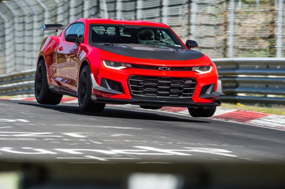 Chevrolet Camaro ZL1 1LE 2018 en el Nurburgring