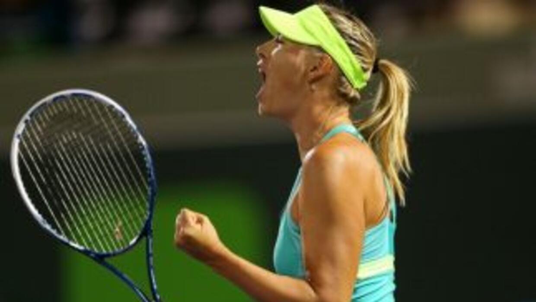 Sharapova, segunda favorita, derrotó a Zakopalova (N.21) con un doble 6-2.