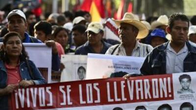 El caso de la desaparición de 43 jóvenes en Iguala, Guerrero.