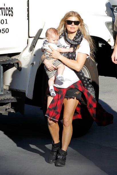 A sus 39 años, Fergie es una de las mamás más sexys del espectáculo.