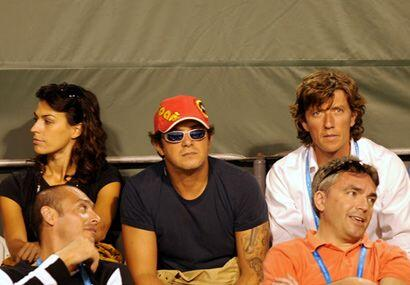 El cantante español Alejandro Sanz también se da cita en los partidos de...
