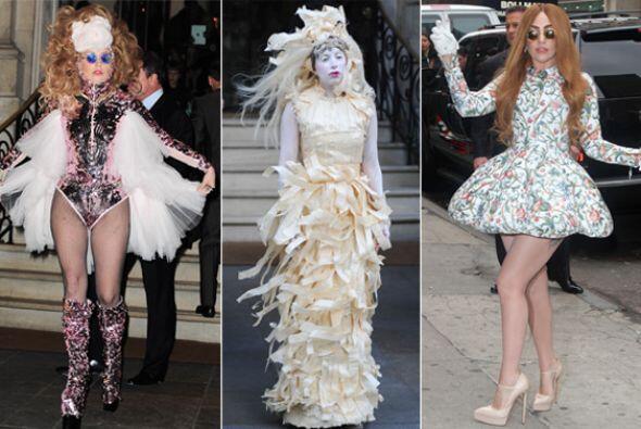 ¡Lady Gaga tiene imaginación de sobra! Chequen nada más todos los bizarr...