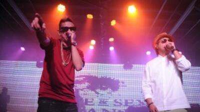 El dúo se prepara para realizar un mega concierto en el Staples Center.