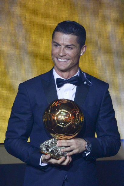 Cristiano Ronaldo fue reconocido con el Balón de Oro, por tercera vez, c...