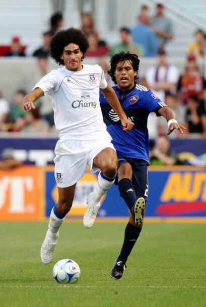 2009: MLS 1-1 (3-4p) Everton. Con el belga Fellaini como gran figura en...