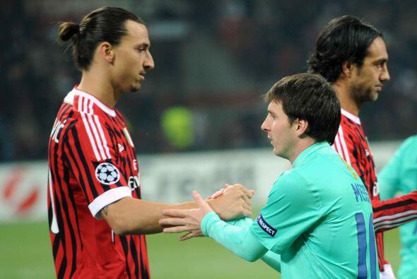 El Milán y el Barcelona representan el choque de trenes de los cuartos d...