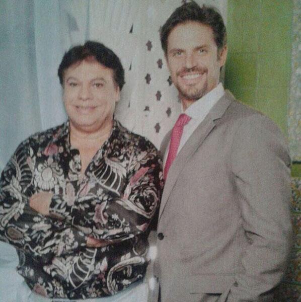 Mark Tacher y Juan Gabriel