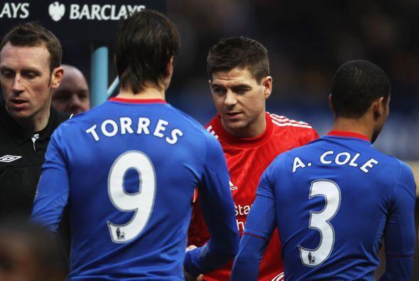 Llegó el día en el que el español Fernando Torres debutó con el Chelsea...