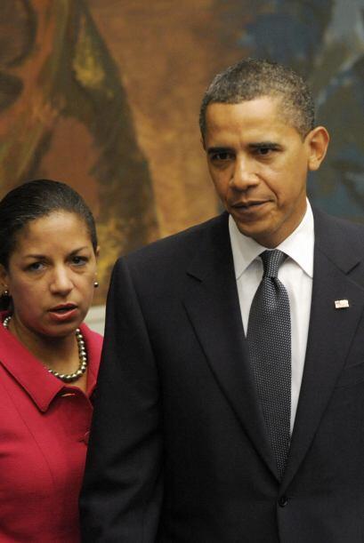 Fue nominada por el presidente Barack Obama como su nueva asesora de seg...