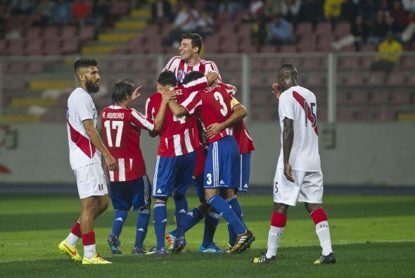 Los goles de la selección inca, que le dio vuelta a un partido que iba p...