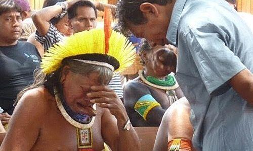 La represa de Belo Monte se construye en el río Xingú, est...
