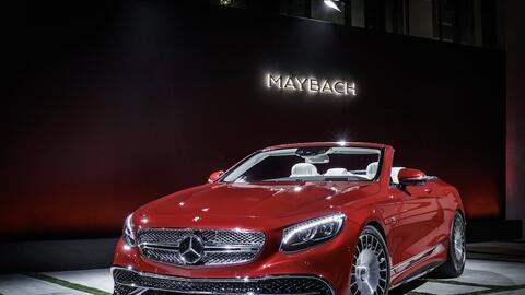Maybach presenta a su primer vehículo convertible en más de 100 años de...